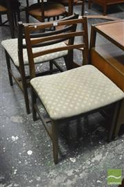 Sale 8364 - Lot 1079 - Set of Four G-Plan Chairs