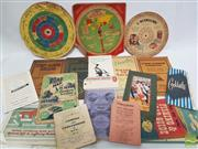 Sale 8900 - Lot 36 - Collection of Ephemera