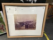 Sale 8910 - Lot 2076 - Reproduction Photograph of the Opening of Pyrmont Bridge, 1902, 80 x 89 cm