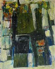 Sale 8972A - Lot 5019 - Kevin Charles (Pro) Hart (1928 - 2006) - Modern Abstract, 1979 50 x 40 cm