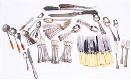 Sale 9185E - Lot 185 - A collection of cutlery including paramount