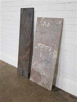 Sale 9255 - Lot 1405 - Granite and marble pieces (