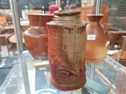 Sale 8476 - Lot 1068 - Collection of Three Studio Pottery Pinch Vases