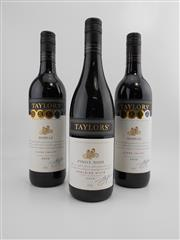Sale 8519W - Lot 13 - 3x Taylors Wines - 2x 2009 Shiraz, Clare Valley; 1x 2010 Pinot Noir, Adelaide Hills