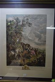 Sale 8582 - Lot 2039 - After Carel Van Falens (1683 - 1733) - Rendezvous de Chasse 82 x 67cm (frame)