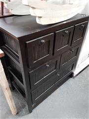 Sale 8676 - Lot 1075 - Small Six Drawer Chest