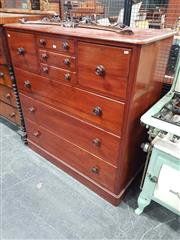 Sale 8925 - Lot 1002 - A cedar chest of drawers