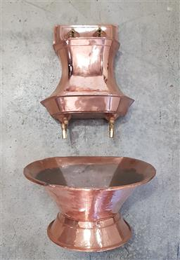 Sale 9126 - Lot 1026 - French Copper water fountain