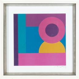 Sale 9239H - Lot 68 - A contemporary print in box frame signed Baptist, framed size 46 x 46cm