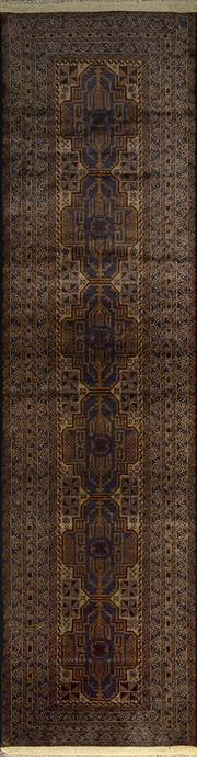 Sale 8335C - Lot 9 - Persian Baluch Runner 310cm x 82cm