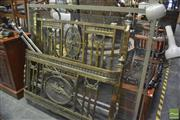 Sale 8326 - Lot 1277 - French Brass Single Bed