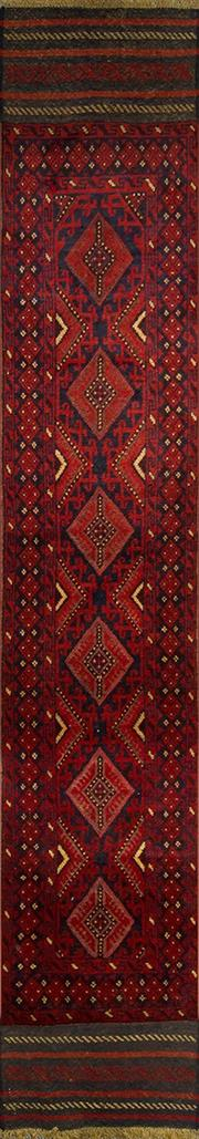 Sale 8335C - Lot 10 - Persian Baluch Runner 365cm x 65cm