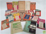 Sale 8900 - Lot 13 - Collection of Music related Ephemera incl. Palings Pianos Catalogue; Boomerang Songster Booklets; etc
