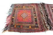 Sale 8972M - Lot 635 - An Afghan hand knotted camel sack with two pouches