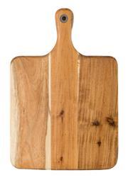 Sale 8975K - Lot 57 - Laguiole by Louis Thiers Acacia Wood Cheese Board with Handle - 39cm