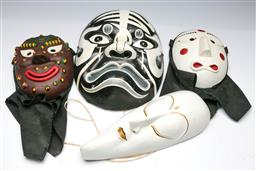 Sale 9164 - Lot 396 - Collection of Asian theatre masks