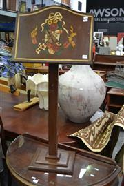 Sale 8115 - Lot 1144 - Hand Painted Timber Music Stand