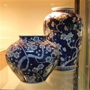 Sale 8300 - Lot 81 - Handpainted Blue & White Chinese Vase