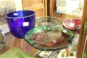 Sale 8478 - Lot 2299 - Collection of Four Art Glass Pieces