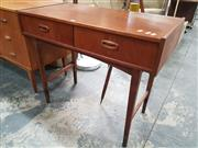 Sale 8872 - Lot 1001 - Parker Teak Two Drawer Desk