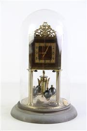 Sale 8940T - Lot 608 - Dome Cased Clock H: 29cm