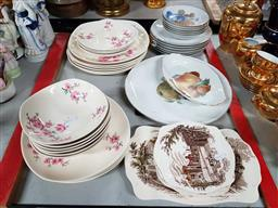 Sale 9176 - Lot 2292 - Collection of Plates & Bowls incl Johnson, Johnson Bros, Arzberg, Shonwald & Japanese