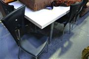 Sale 8031 - Lot 1062 - Modern Table & 6 Chairs