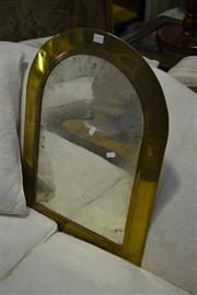 Sale 8093 - Lot 1373 - Brass Framed Mirror