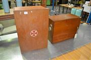 Sale 8117 - Lot 915 - Vintage First Aid Box And Another