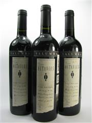 Sale 8278A - Lot 81 - 3x 1998 Yalumba The Octavius, edition IX Old Vine Shiraz, Barossa Valley - foxed labels