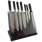 Sale 8292A - Lot 73 - Laguiole By Louis Thiers Artisan 8-Piece Knife Block Set RRP $1199