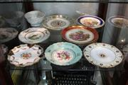 Sale 8330T - Lot 191 - Spode Cabinet Plate with Others incl Wedgwood