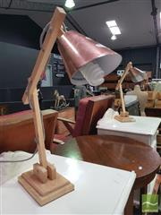 Sale 8495F - Lot 1031 - Pair of Modern Table Lamps