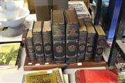 Sale 8217 - Lot 2157 - 8 Volume Set Franklin Mint Reference Set of Oxford English Dictionaries, Quotations, American Verse, English Verse, English Literatu...
