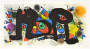 Sale 8633A - Lot 5086 - Joan Miró (1893 - 1983) - Sculptures II 33 x 61.5cm (frame: 61.5 x 90cm)