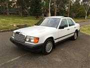 Sale 8406V - Lot 5003 - Mercedes Benz 300E Sedan                                                       White With grey Leather Interior...