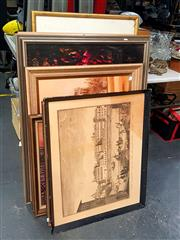 Sale 8682 - Lot 2054 - Collection of Paintings, Prints, etc