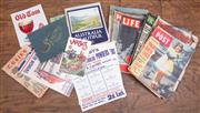 Sale 8984H - Lot 96 - A large collection of ephemera including womens weekly from the 1930s through to the 1970s and a collection of ephemera including A...