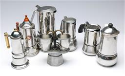 Sale 9104 - Lot 41 - A Collection Of Good Coffee/Espresso Pots