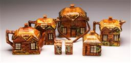 Sale 9136 - Lot 245 - A suite of country cottage ceramics (some slight chips)