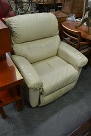 Sale 8127 - Lot 889 - Leather Recliner