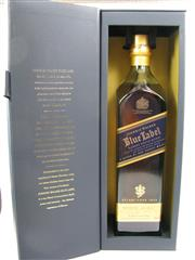 Sale 8225 - Lot 1744 - 1x Johnnie Walker Blue Label Rare Blended Scotch Whisky - 750ml in box