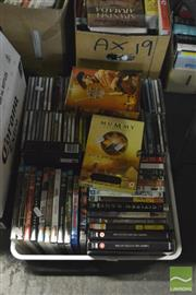 Sale 8407T - Lot 2373 - Crate of CDs, DVDs & Games