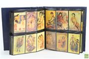 Sale 8546 - Lot 5 - Album Containing Chinese Cigarette Cards