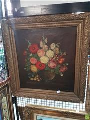 Sale 8563T - Lot 2192 - M. Owen-Smith Still Life - Flowers, oil on canvas (AF), signed lower right