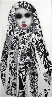 Sale 8692 - Lot 570 - Hush (1976 - ) - Untitled, 2012 (Babushka) 240 x 120cm