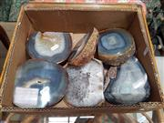 Sale 8863 - Lot 1083 - Box of Natural Agate Pieces