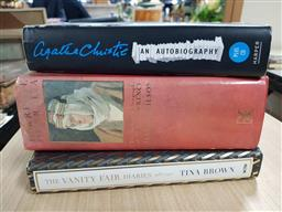 Sale 9180 - Lot 2085 - 3 Vols: Lawrence of Arabia, Agatha Christie: An Autobiography (CD of Voice Recordings in Rear of Book) & Vanity Fair Diaries 19...