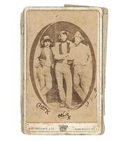 Sale 8169 - Lot 4 - Kelly Gang Signed Photograph