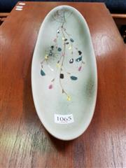 Sale 8476 - Lot 1065 - Ellis Float Bowl in Autumnal Scenes